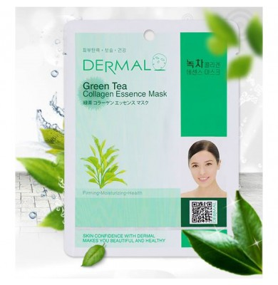 Коллагеновая маска с экстрактом зеленого чая «Green Tea Collagen Essence Mask»